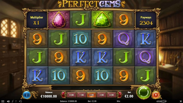Play'N Go Unearths Perfect Gems Slot Game