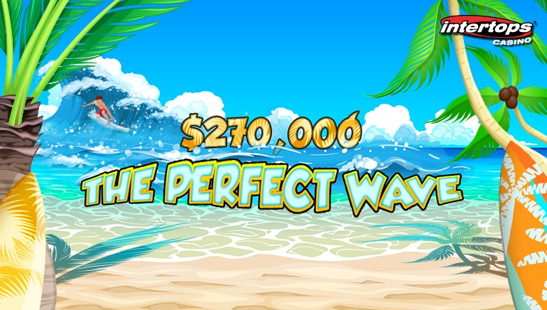 Intertops Casino Invites you to Surf the Perfect Wave