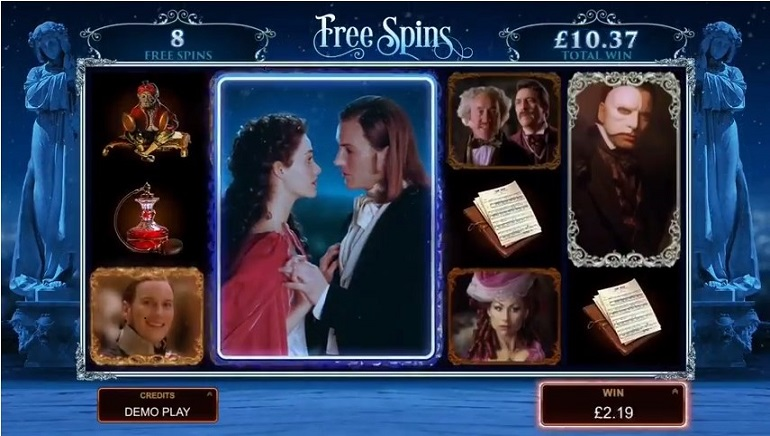 Microgaming's The Phantom of the Opera Slot Goes Live
