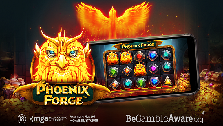 Gaming News: Unlock The Power Of A Fabled Bird With The New Phoenix Forge Online Slot From Pragmatic Play