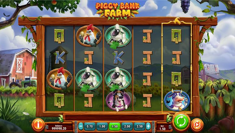 Get Ready for Farming Fun with Play'n GO's New Slot, Piggy Bank Farm