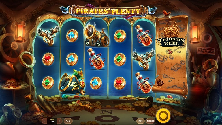 Pirates' Plenty Slot Released by Red Tiger Gaming