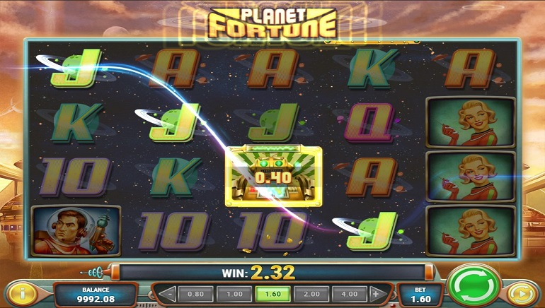 The Future Is in the Past: Play'n GO's Planet Fortune Slot Launches