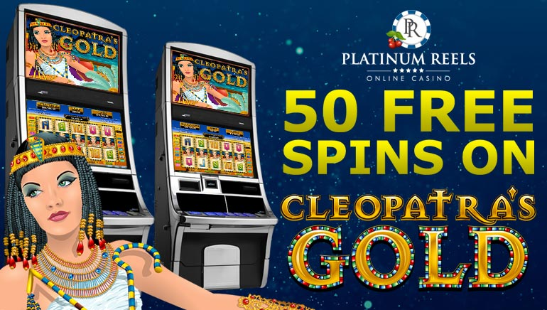 Platinum Reels Casino Walks Like an Egyptian with 50 No Deposit Free Spins