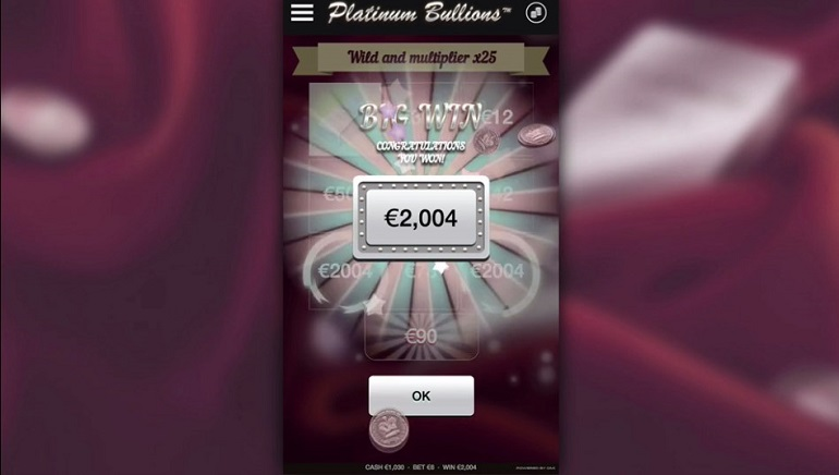 OMI Releases New Video Scratch Card Game: Platinum Bullions