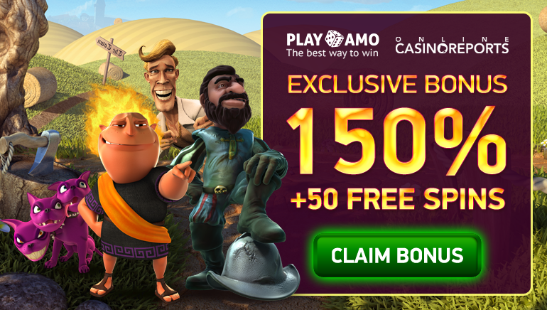 Get an OCR Exclusive Welcome Bonus with the New Playamo Casino