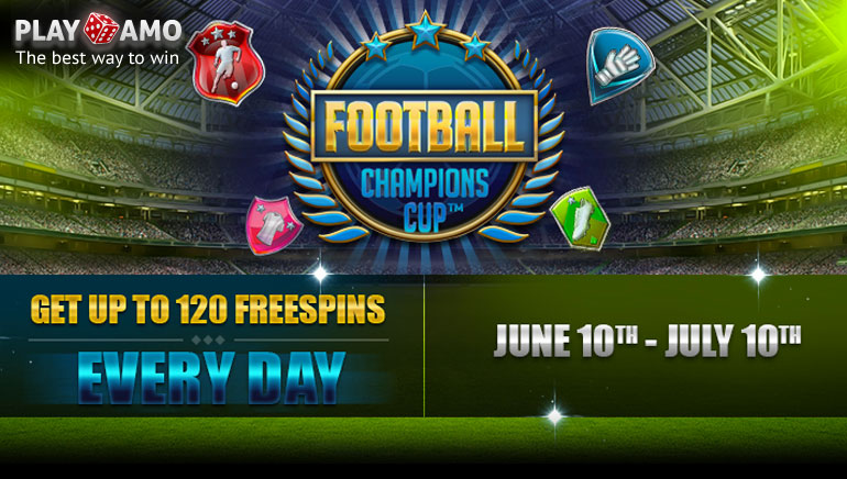 Playamo Casino Spoils Players With Whopping Euro 2016 Freespins Offer