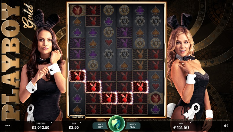 Microgaming Launches Playboy Gold Slot Introducing New Exciting Features
