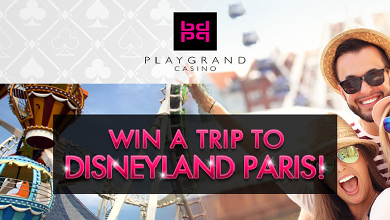 PlayGrand Casino's New Offer Literally Takes you to Disneyland