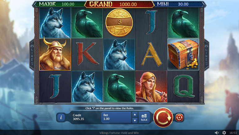 Playson Launches Vikings Fortune: Hold and Win