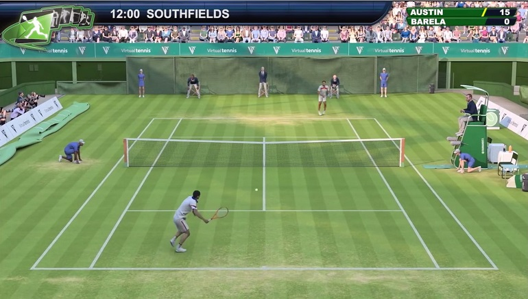 Playtech Launches Graphically Advanced Virtual Tennis Game