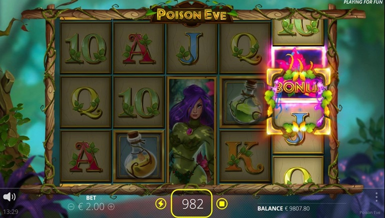 New Poison Eve Slot From Nolimit City Takes Players Into An Enchanted Realm