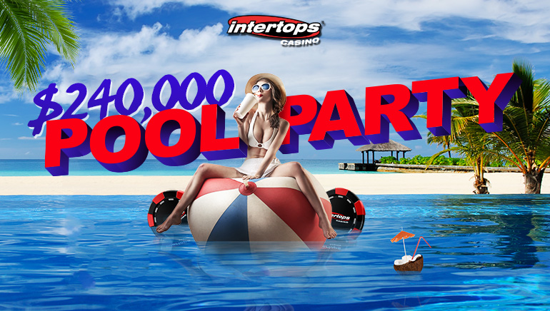 Stay Cool This Summer with Intertops Casino's $240k Pool Party