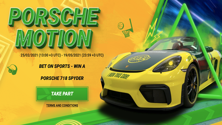 BetWinner Revs It Up with Luxury Porsche Motion Promotion
