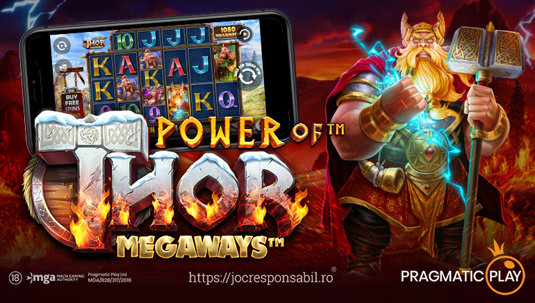 Unleash A Norse God With New Power Of Thor Megaways Slot From Pragmatic Play