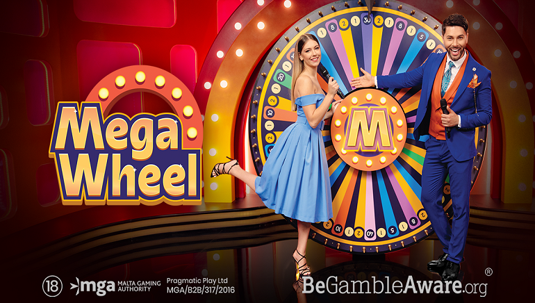 Pragmatic Play Debuts the Mega Wheel for Live Casinos