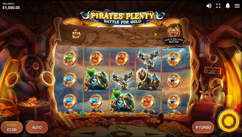 Pirates' Plenty – Battle for Gold is Red Tiger's Sea-faring Daring Adventure
