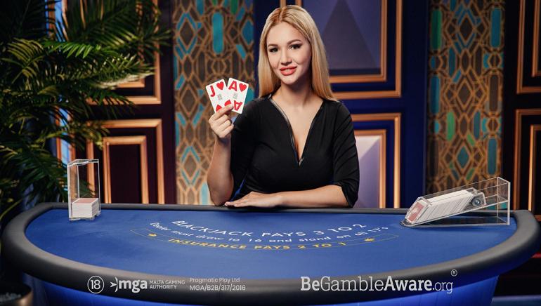 Ten New Blackjack Tables For Pragmatic Play Azure Live Casino Range