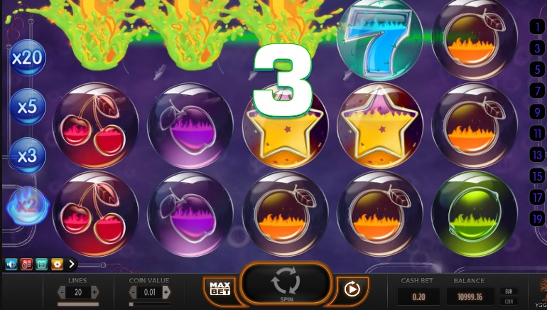 Yggdrasil Launches Fiery New Slot Pyrons