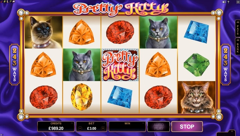 Meow Away: Microgaming's New Pretty Kitty Slot Coming to Casinos Soon
