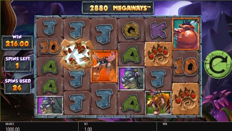 Explore the Stone Age with Primal Megaways™ from Blueprint Gaming