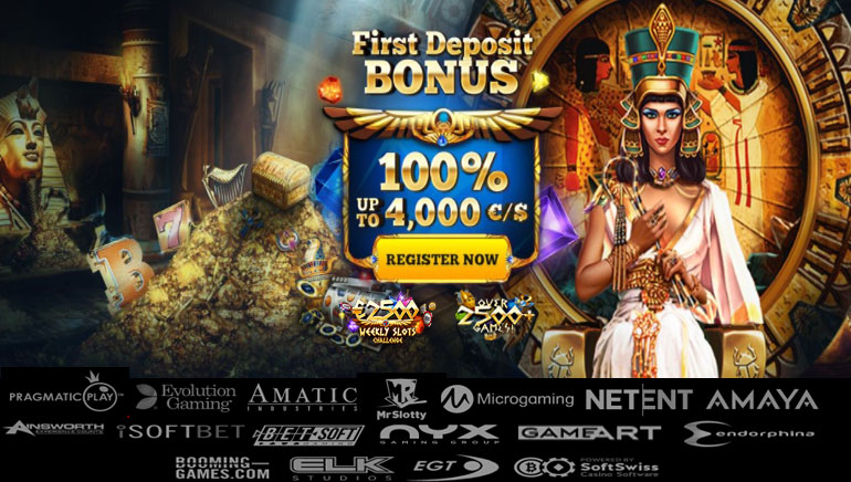 Uncover Riches with Huge Cleopatra Casino Welcome Package