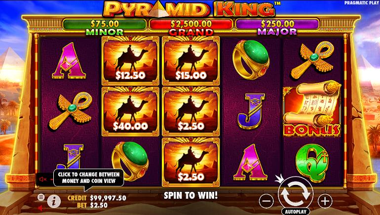 Slot Review: Pyramid King by Pragmatic Play