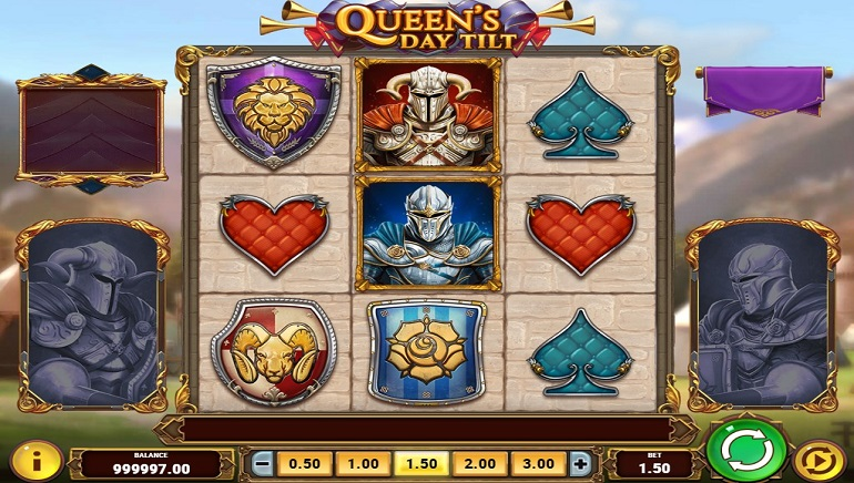 Queen's Day Tilt Slot from Play'N GO Rolls Out