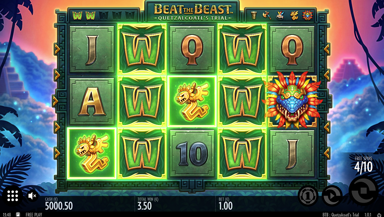 A Fearsome Adventure Begins with Beat the Beast by Thunderkick