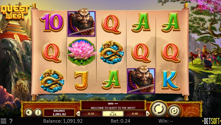 Betsoft Gaming Piles on the Riches with Quest to the West™ Slot