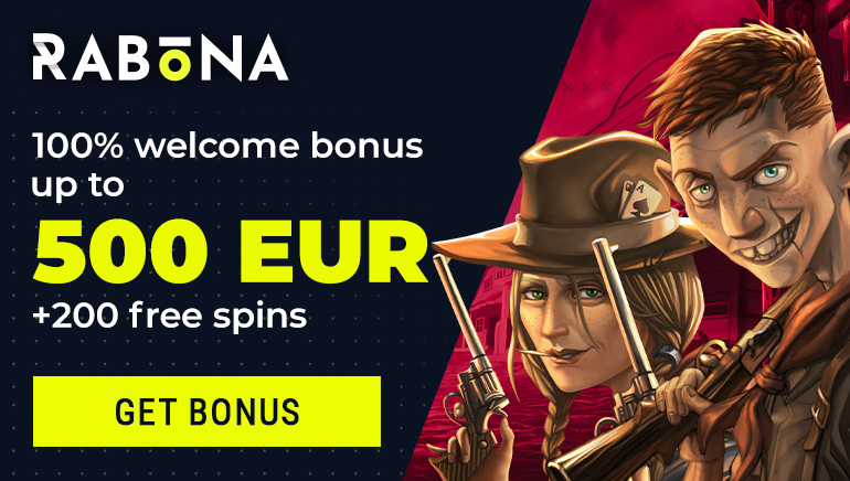 Claim Rabona Casino's €500 Welcome Offer & 200 Free Spins