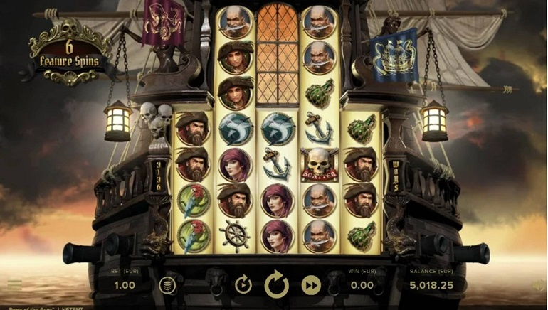 NetEnt Sets Sail in Brand-New Rage of the Seas Slot