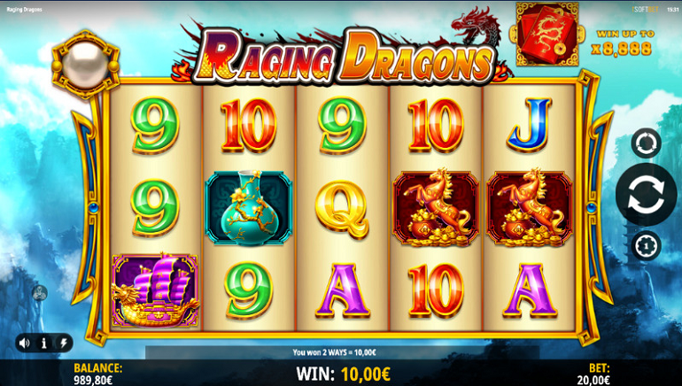 iSoftBet to Release Raging Dragons Slot in 2021