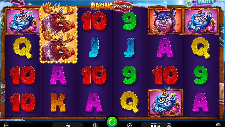 Raging Reindeer Slot Brings Festive Fun From iSoftBet
