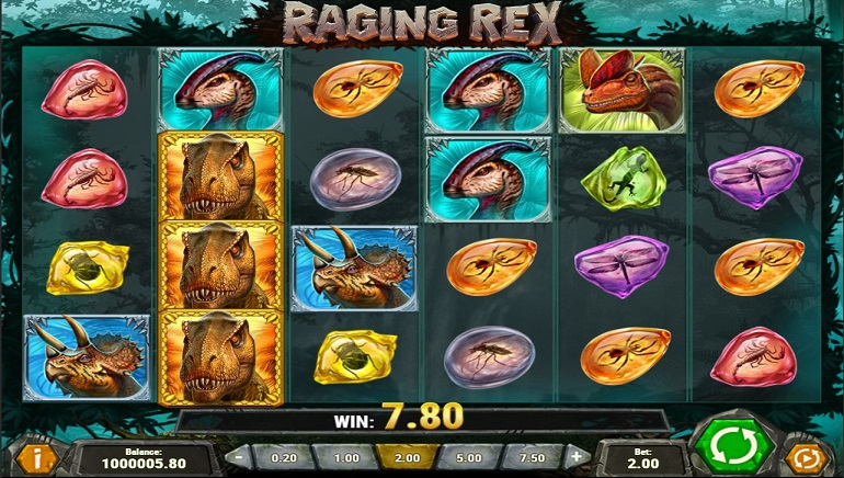 Raging Rex Slot from Play'n GO Goes on a Rampage This Week