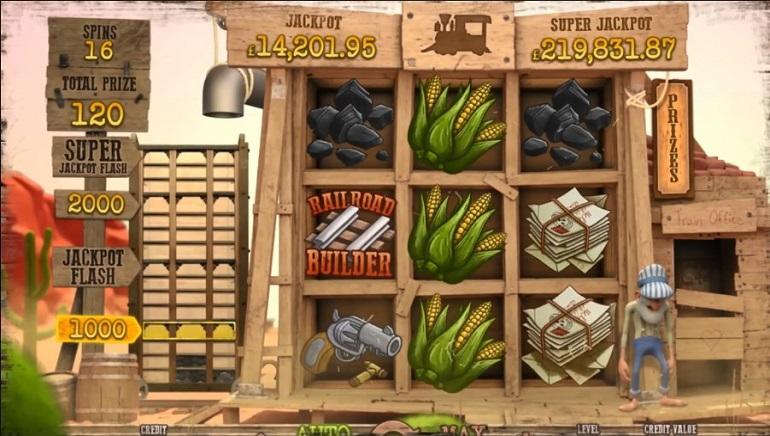 New Slot From Magnet Gaming, Railroad Express, Has 2 Progressive Jackpots