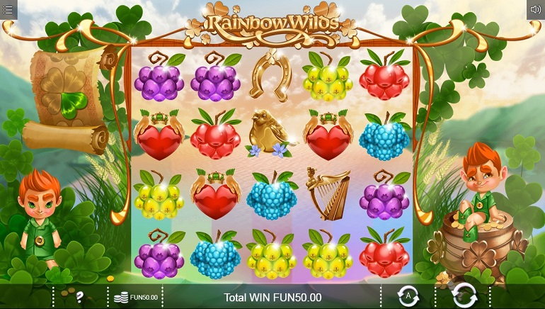 Rainbow Wilds Slot Brings The Luck Of The Irish To Online Casinos