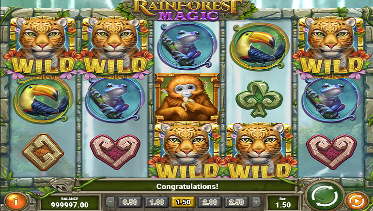 Slot Review: Rainforest Magic by Play'n GO