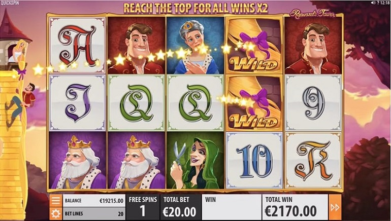 Once a Fairytale, Now a Video Slot: Playing Quickspin's Rapunzel's Tower