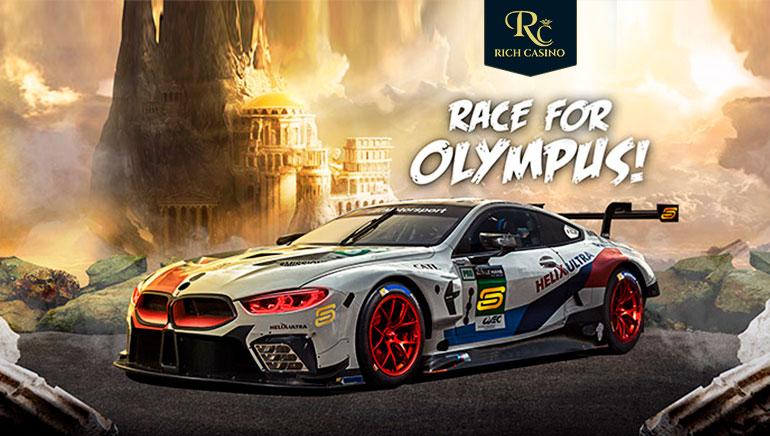 Race to Olympus with Rich Casino