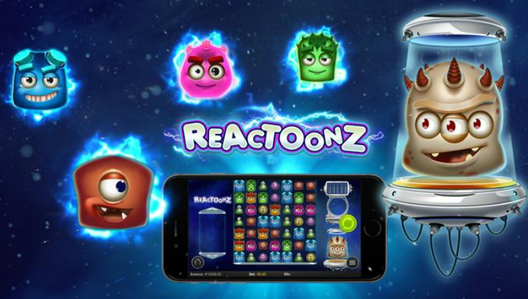 Reactoonz Slot From Play'n GO Unleashed