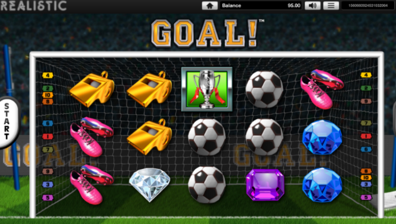 Realistic Gaming Releases GOAL Slot