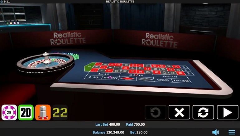 Realistic Games Puts Latest Technology to Work in New 3D Realistic Roulette