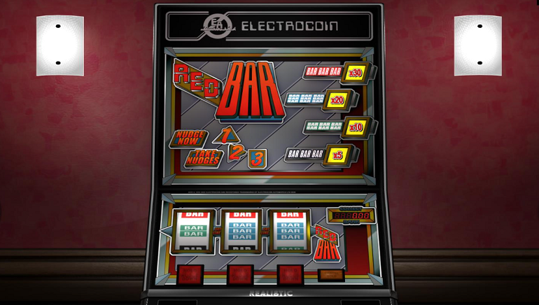 Enjoy Classic Land-Based Casino Style With The New Red Bar Online Slot From Realistic Games