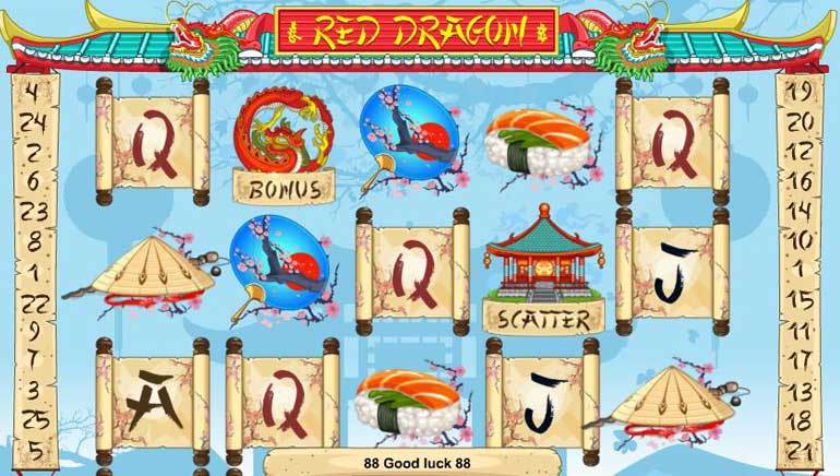 1x2gaming Adds New Slot Machine Red Dragon To Collection