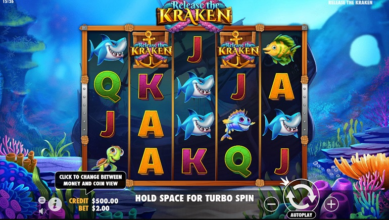 Get Wrapped Up In A New Slot From Pragmatic Play: Release The Kraken
