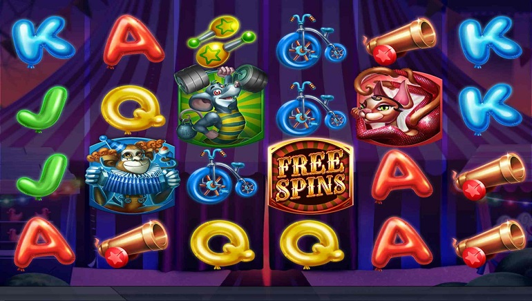 Slot Review: Respin Circus by ELK Studios