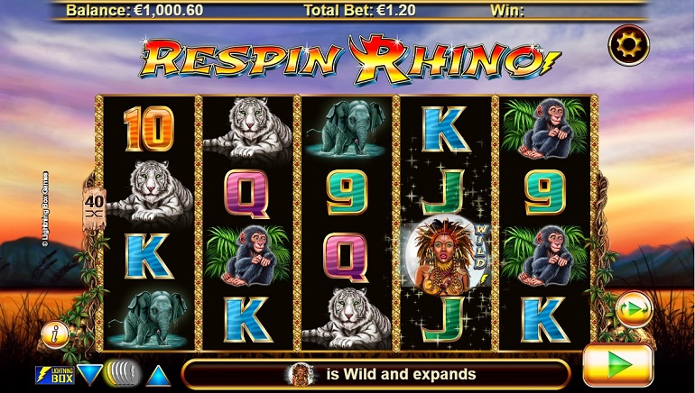 Respin Rhino Slot Stampedes Into Online Casinos