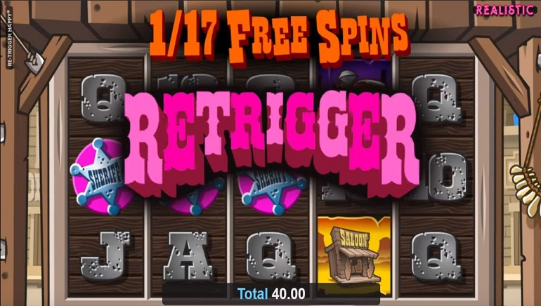 Saddle Up With The Re-Trigger Happy Slot From Realistic Games