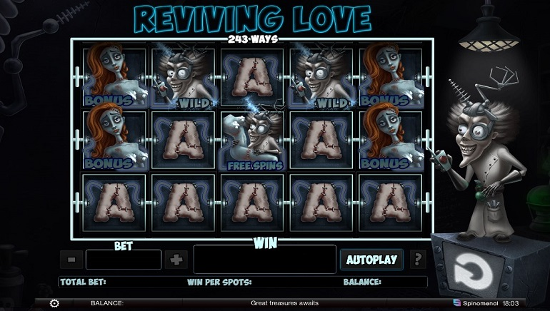 Spinomenal Launches Reviving Love Slot & Introduces European Roulette